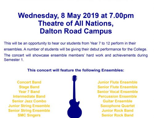 Monicans in May Concert – All Welcome